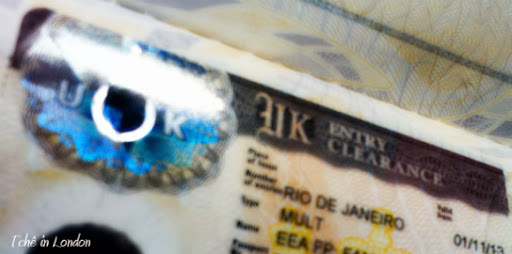 visto reino unido emabixada rio de janeiro etiqueta no passaporte