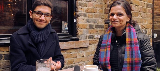 Bate-papo com Eneida (Londres para Principiantes)