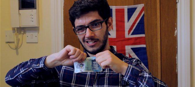 A nova nota de £ 5