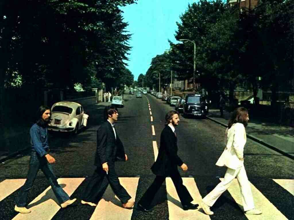 capa do disco abbey road dos beatles