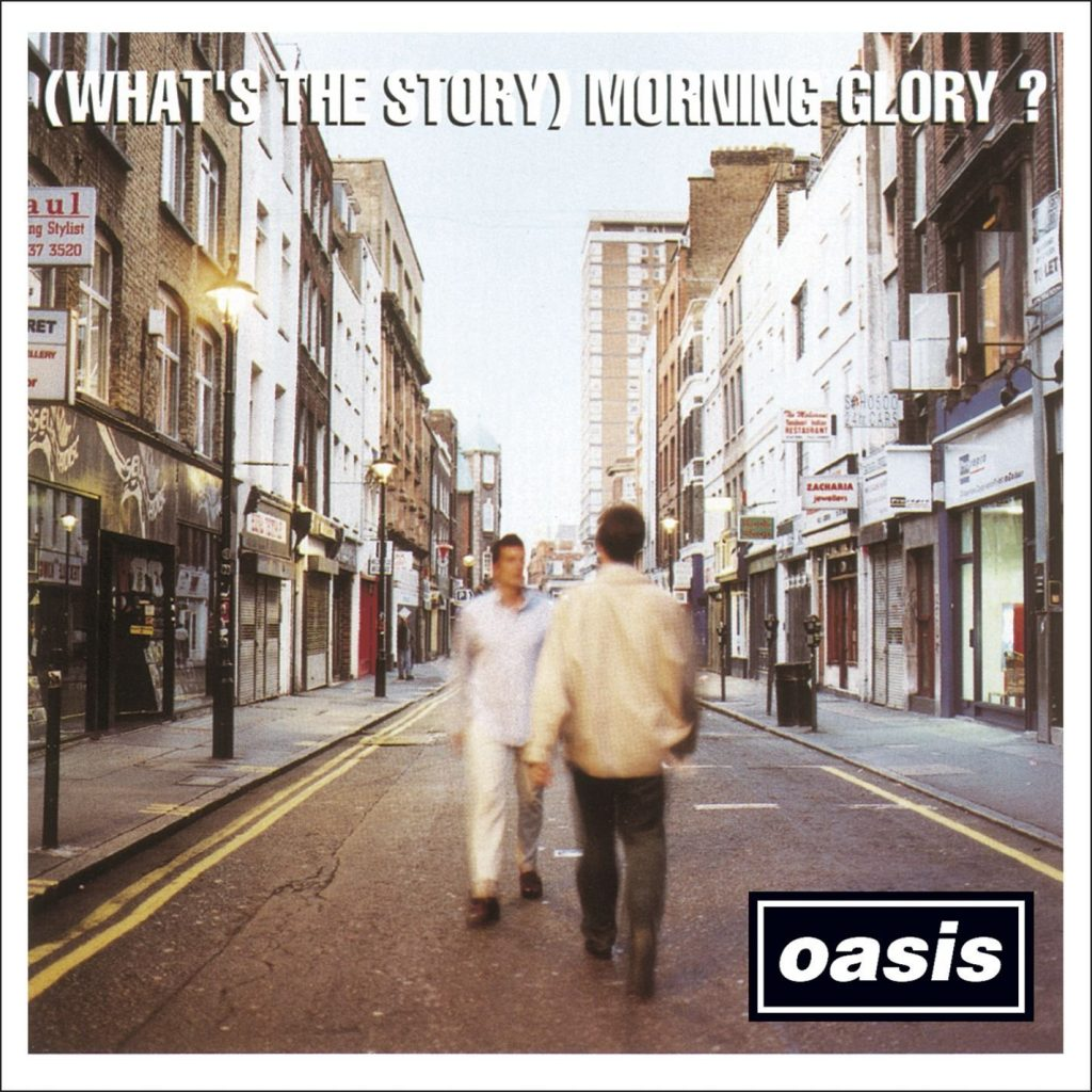 capa do disco do oasis whats the story morning glory