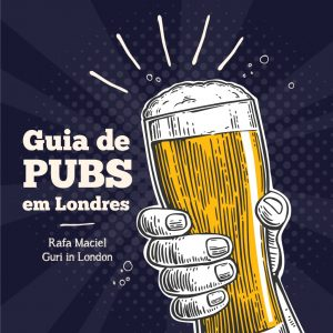 capa do ebook guia de pubs de londres