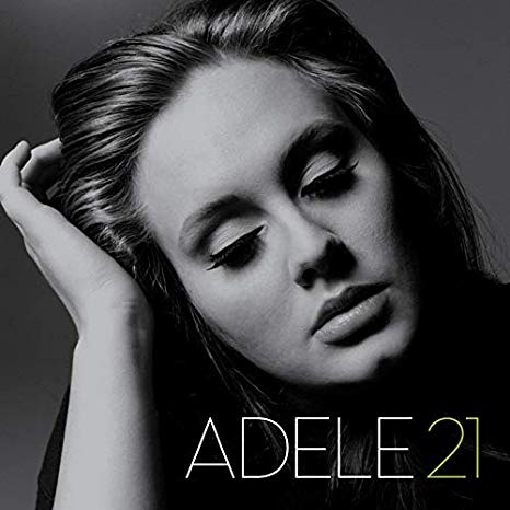 capa do disco 21 da adele