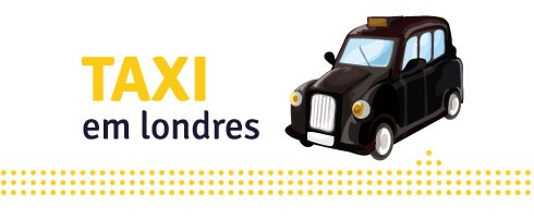 taxi e transporte em Londres